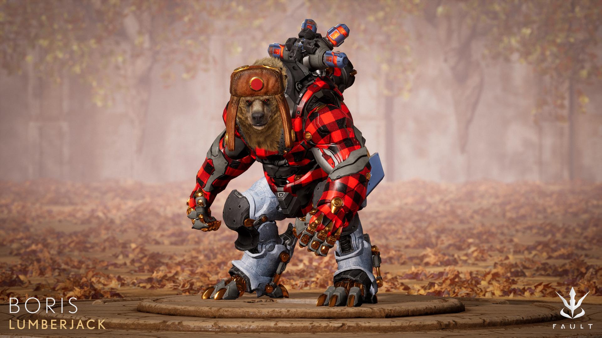 Boris Lumberjack Fault Paragon Skin