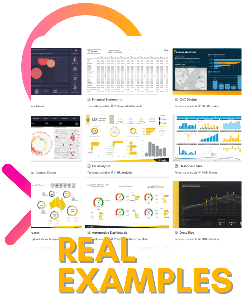 100+ Power BI Report Examples