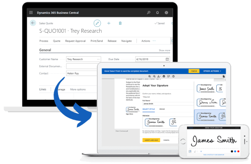 DocuSign Integration for Microsoft Business Central
