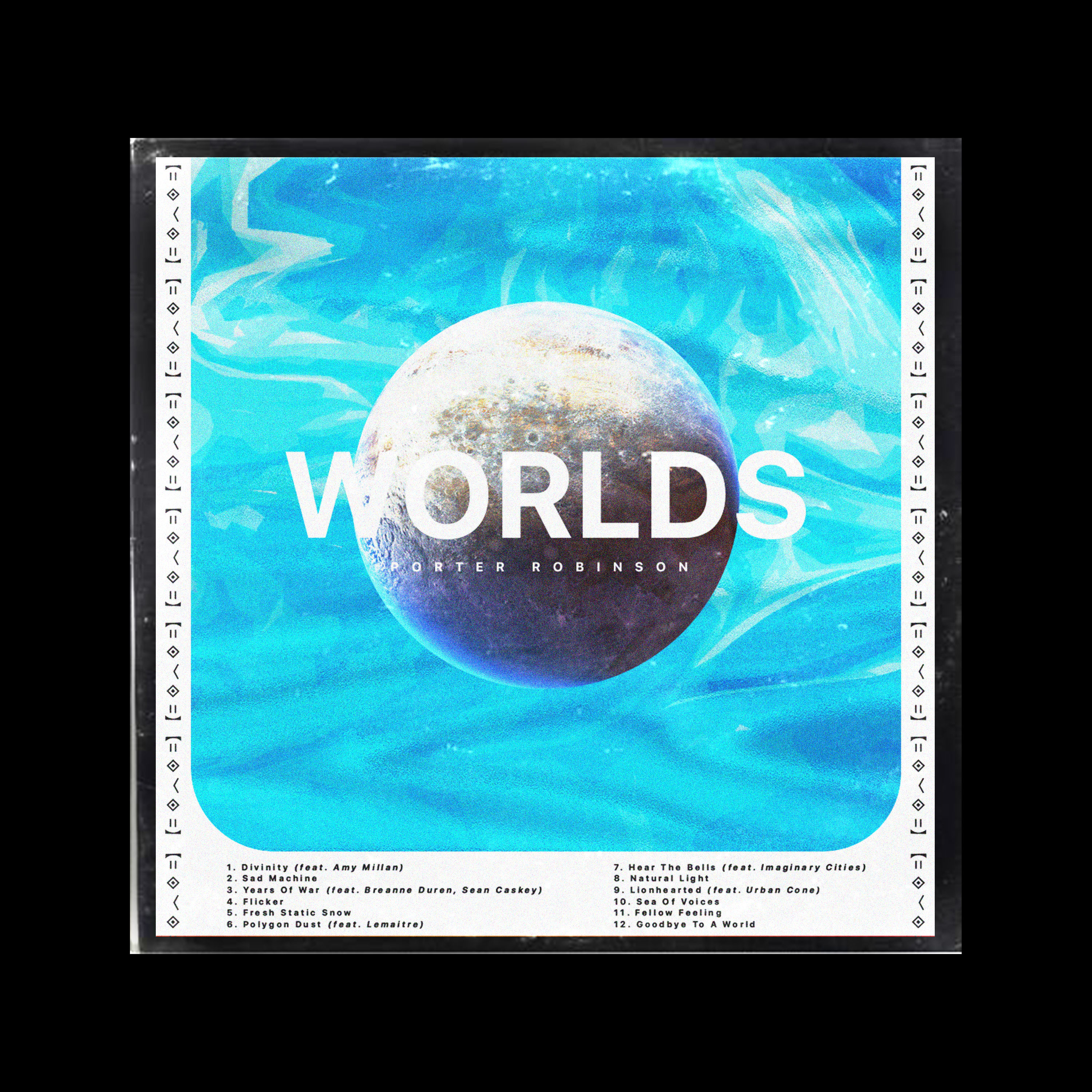 Album cover for worlds