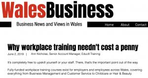 Wales Business screenshot