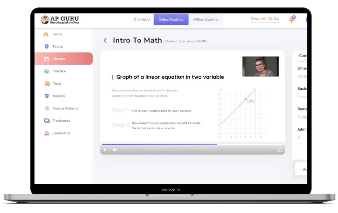 Personalized and live classes from SAT tutors who have taught more than 1000+ SAT students each and have a lot of experience with IB and AP Subjects