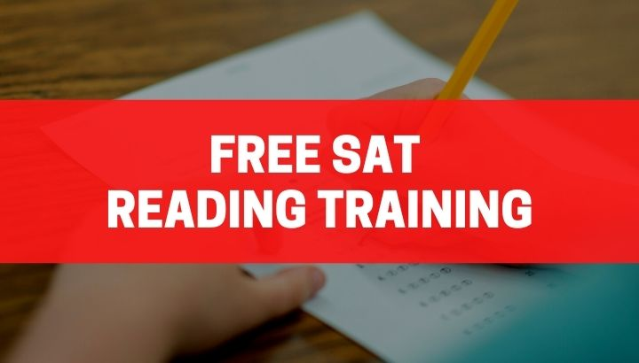 Free Sat Reading Training