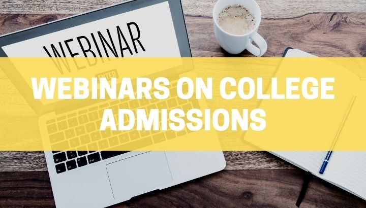 Webinar on how to gain an advantage over the rest in the admission process to the most selective universities in the world