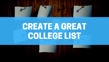 To navigate the huge world of universities, see this article - we'll not only give you tips on how to virtually build your school list, but we will also discuss what a strong and balanced list actually looks like.