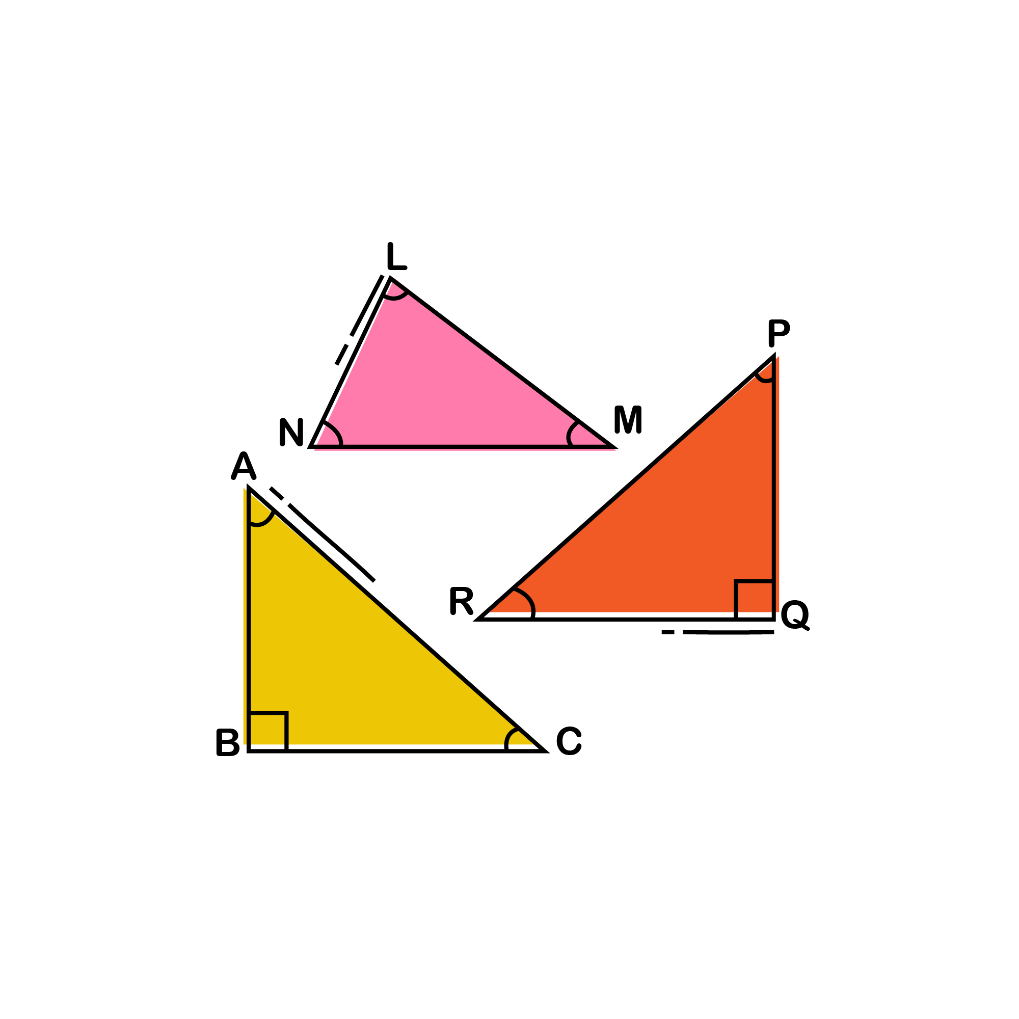 The SAT is absolutely obsessed with triangle-based problems, and as a result, the SAT Math section includes many questions on the SAT Math section. The following set of formulas will help eradicate your trouble once and for all.