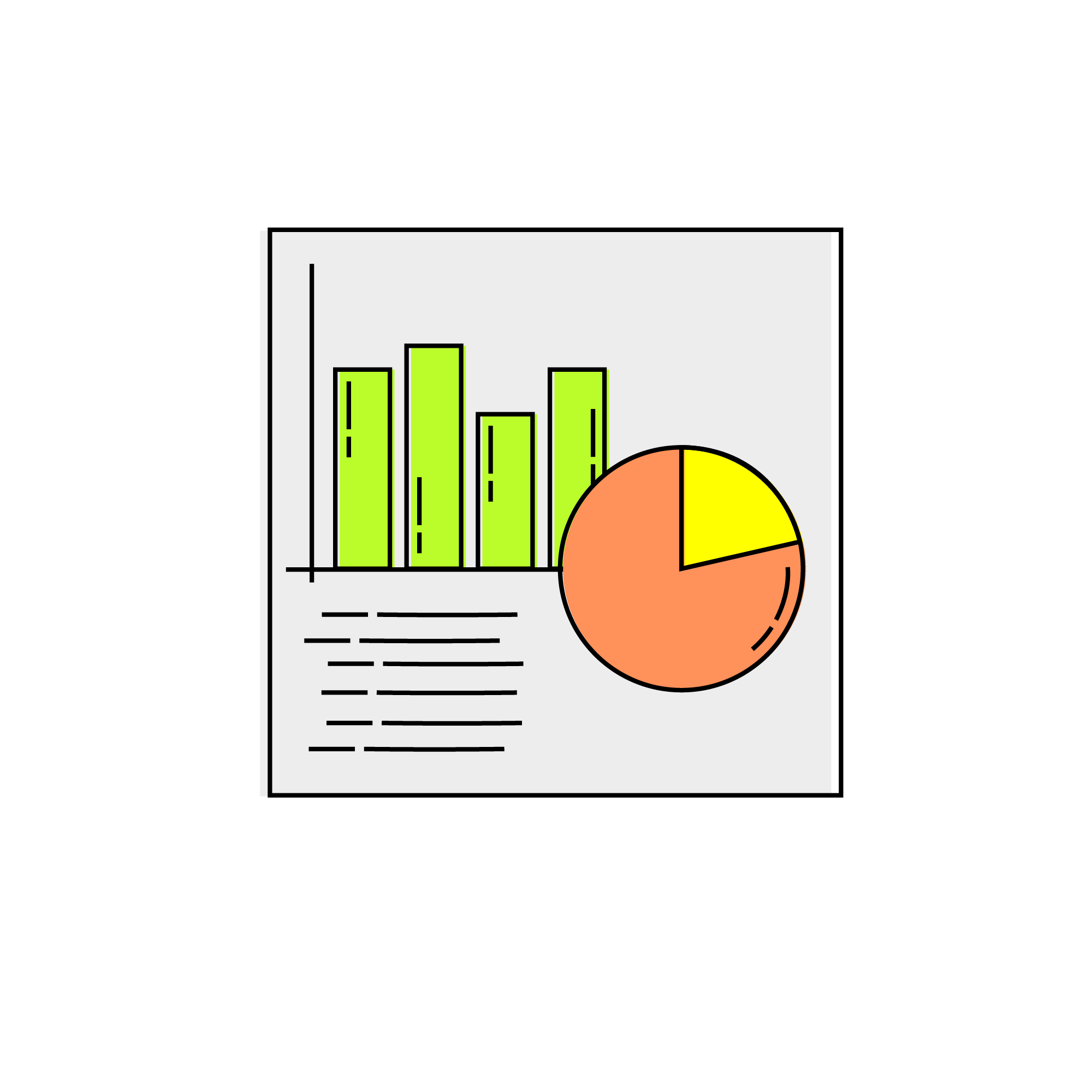 No matter how unfamiliar the terminology may be, all the information you need to answer graph-related questions will be right in front of you. These questions are set up precisely so that you can figure them out without any outside knowledge.