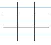 grid of perpendicular lines