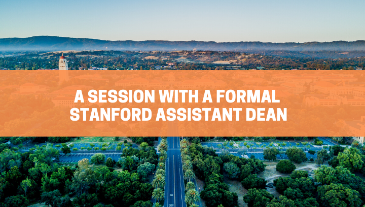 A Talk with Stanford Admissions Dean