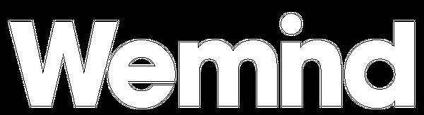 wemind logo white