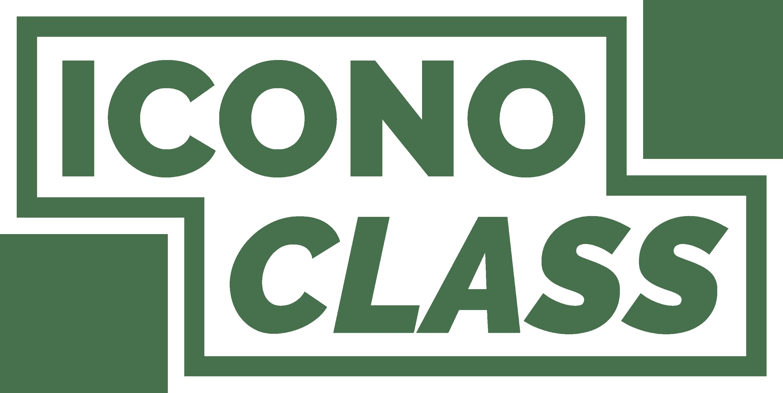 iconoclass logo white