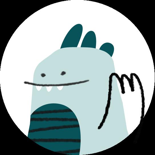A dragon illustration