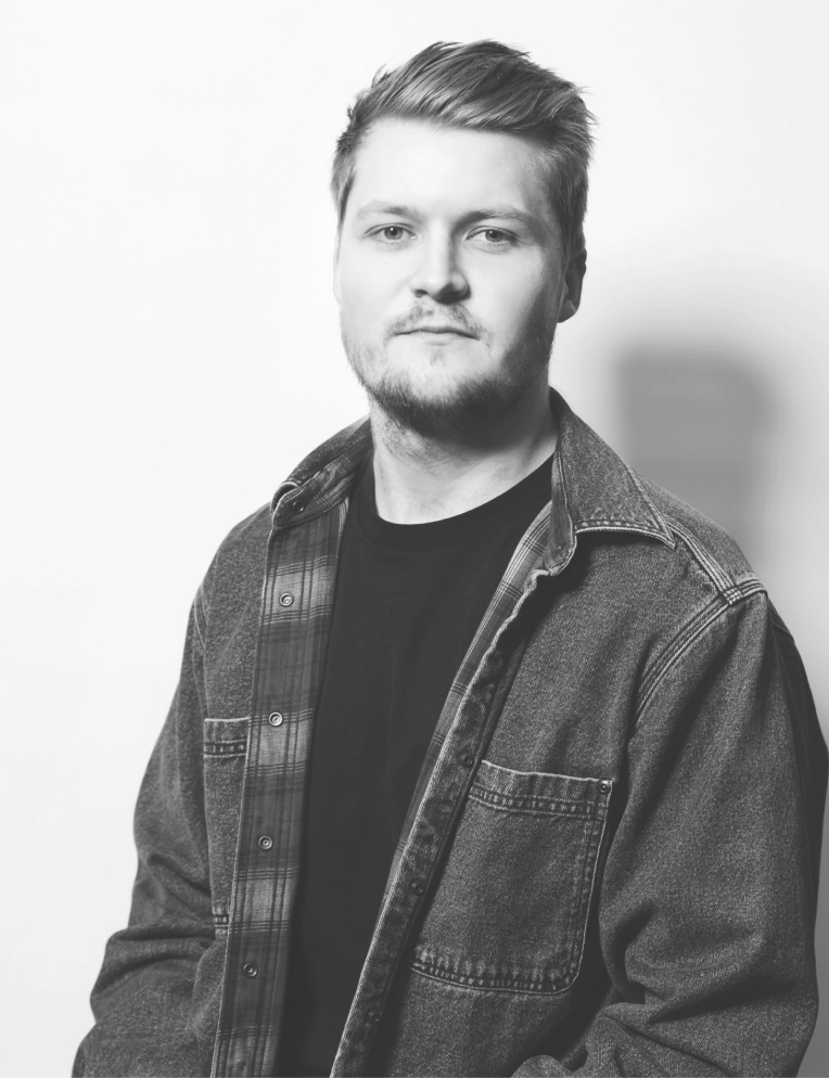 Portrait of Tom Parkes Digital Designer