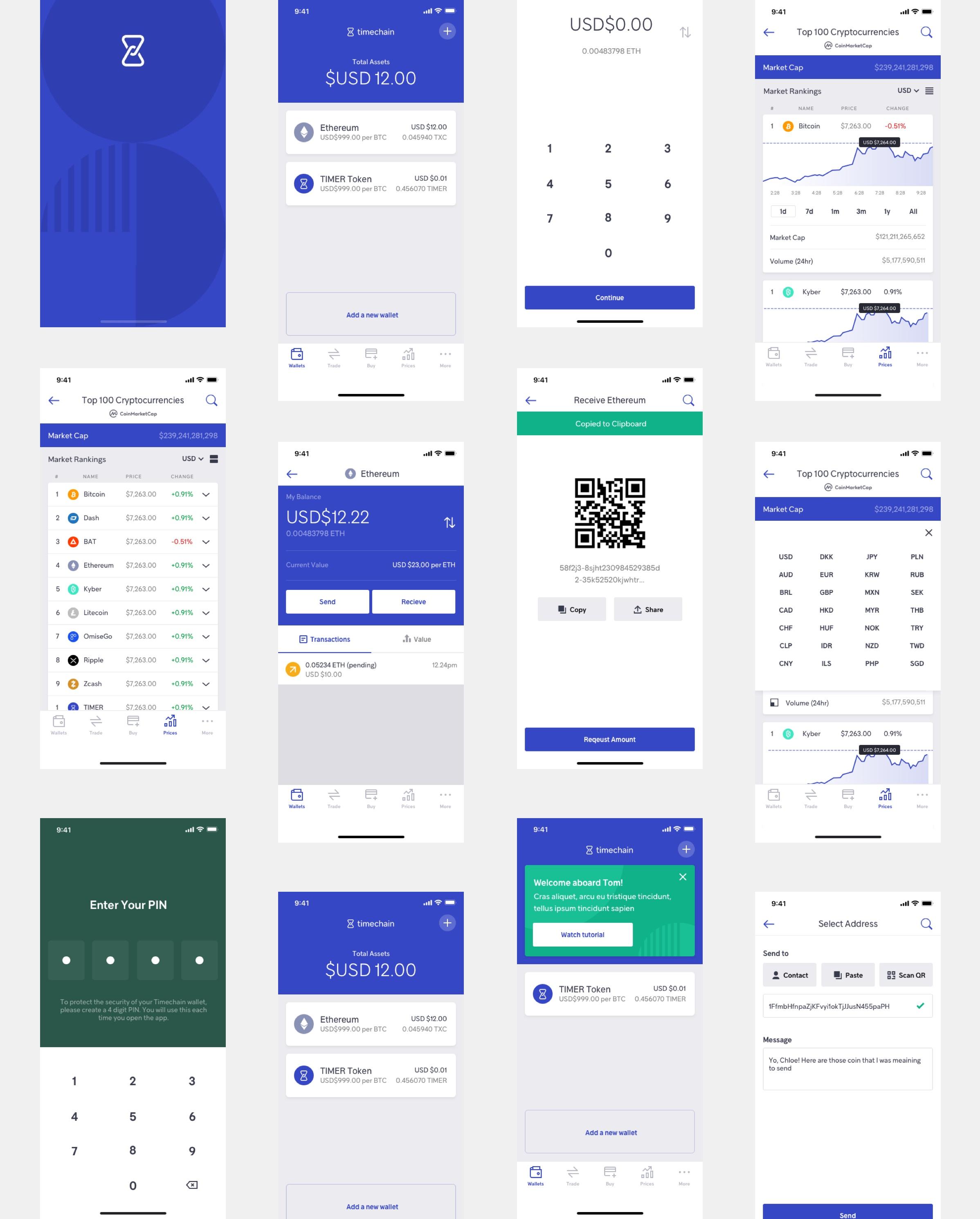 timechain all mobile designs