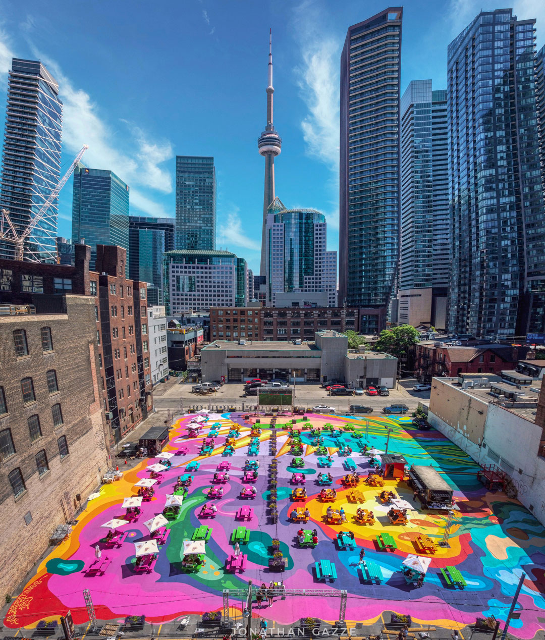 RendezViews presented by The Fifth and The Ballroom | Toronto's Largest  Patio