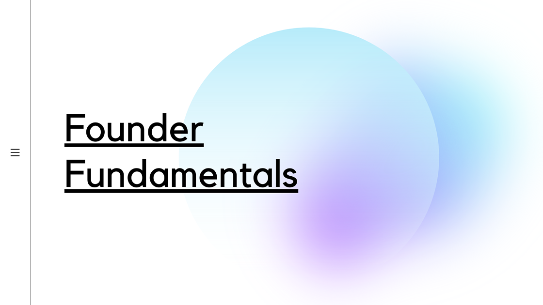 Founder Fundamentals Image