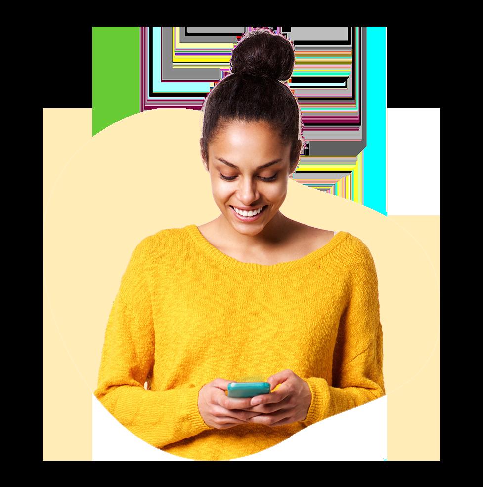 mujer-feliz-celular