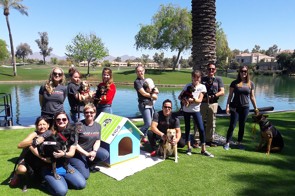 current volunteers at Forever Loved Pet Sanctuary