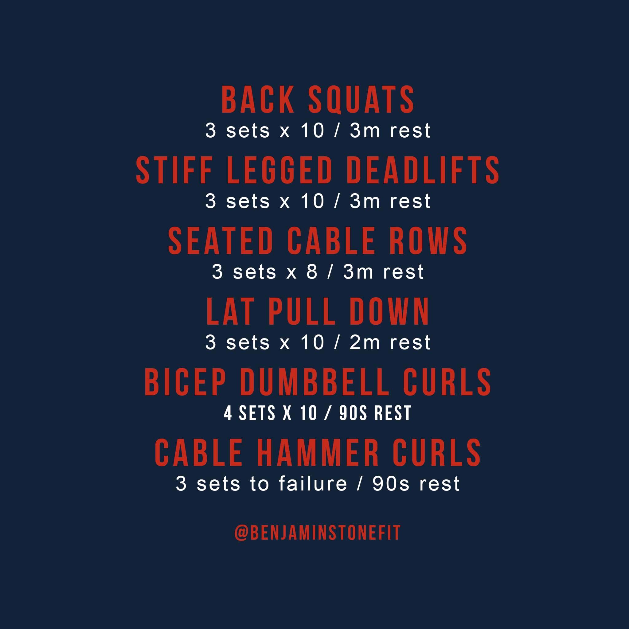Jason Mamoa's Back workout
