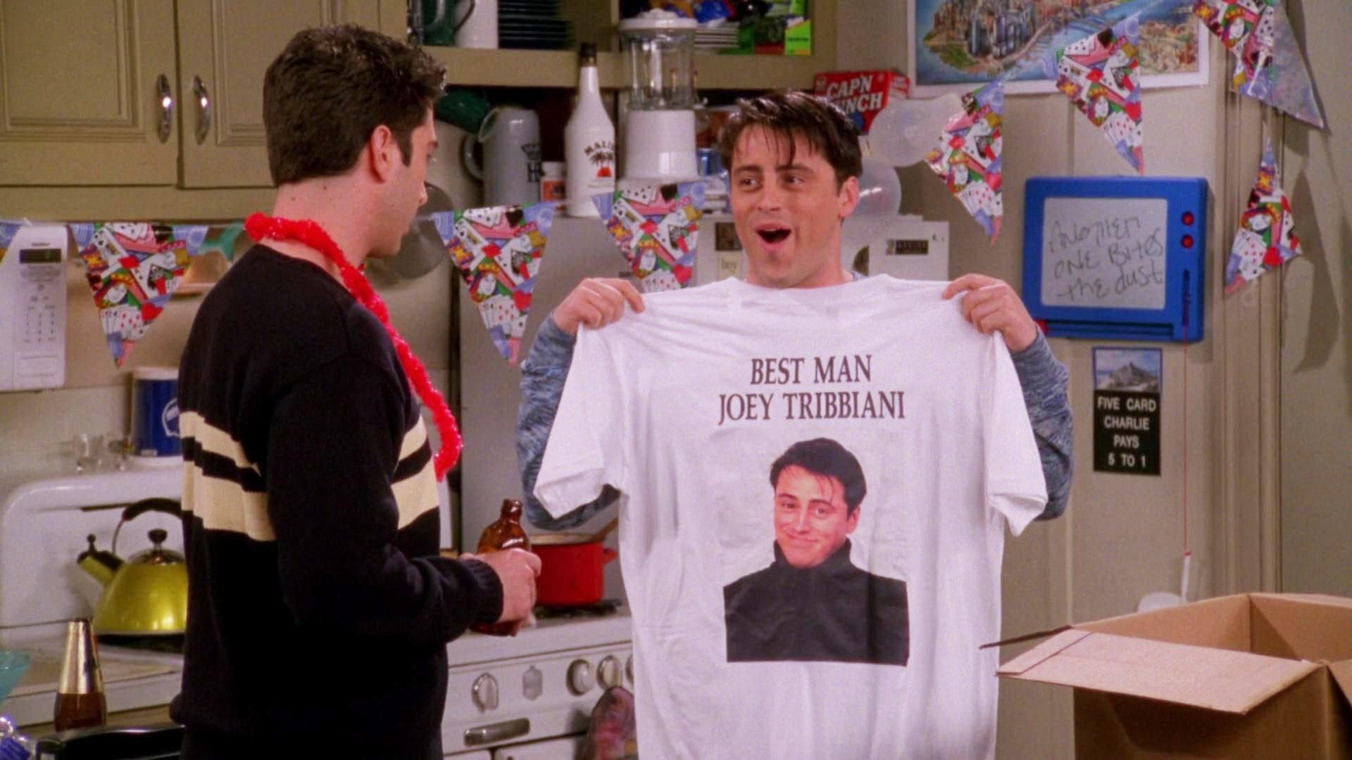 Friends (S04E22): The One With The Worst Best Man Ever Summary ...