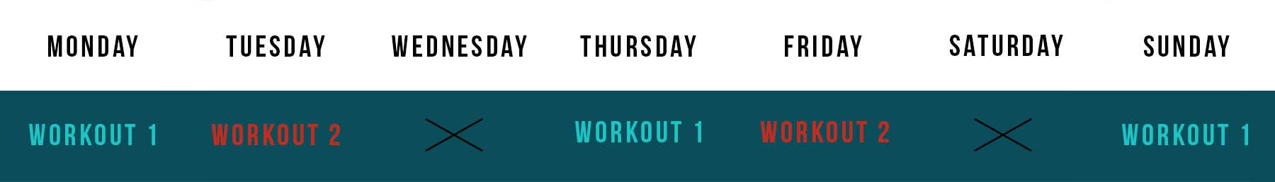 Aquaman workout schedule