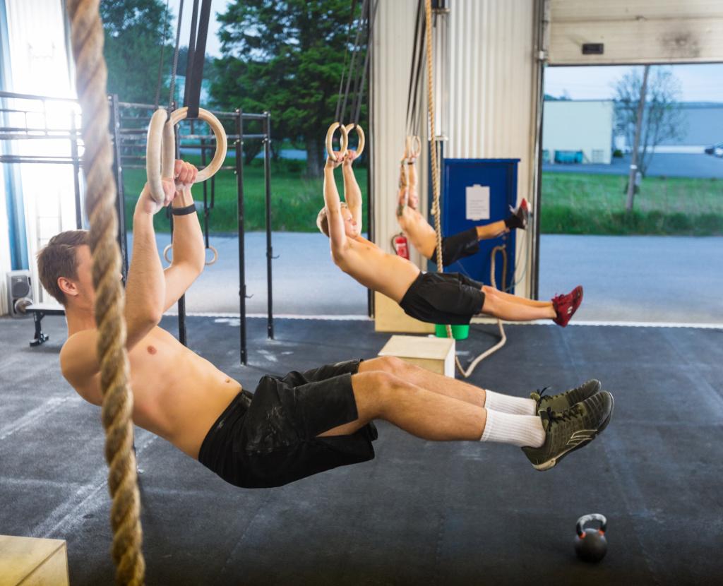 Crossfit building muscle gain