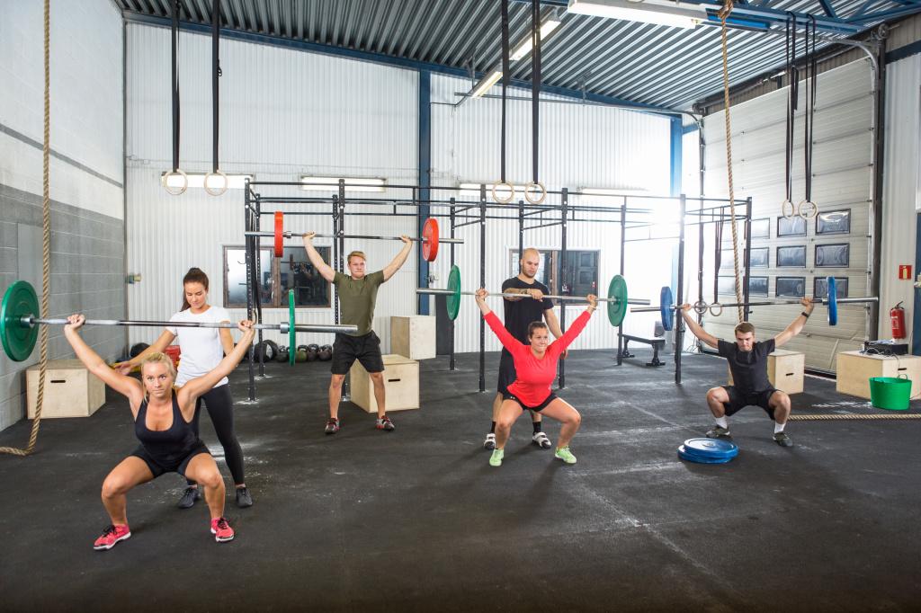 Crossfit muscle gain
