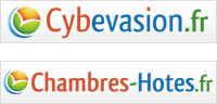 Logo Cybevasion et Chambres-hôte.fr