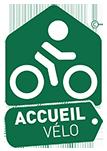 """Logo Loire à Vélo """"Accueil Vélo"""""""