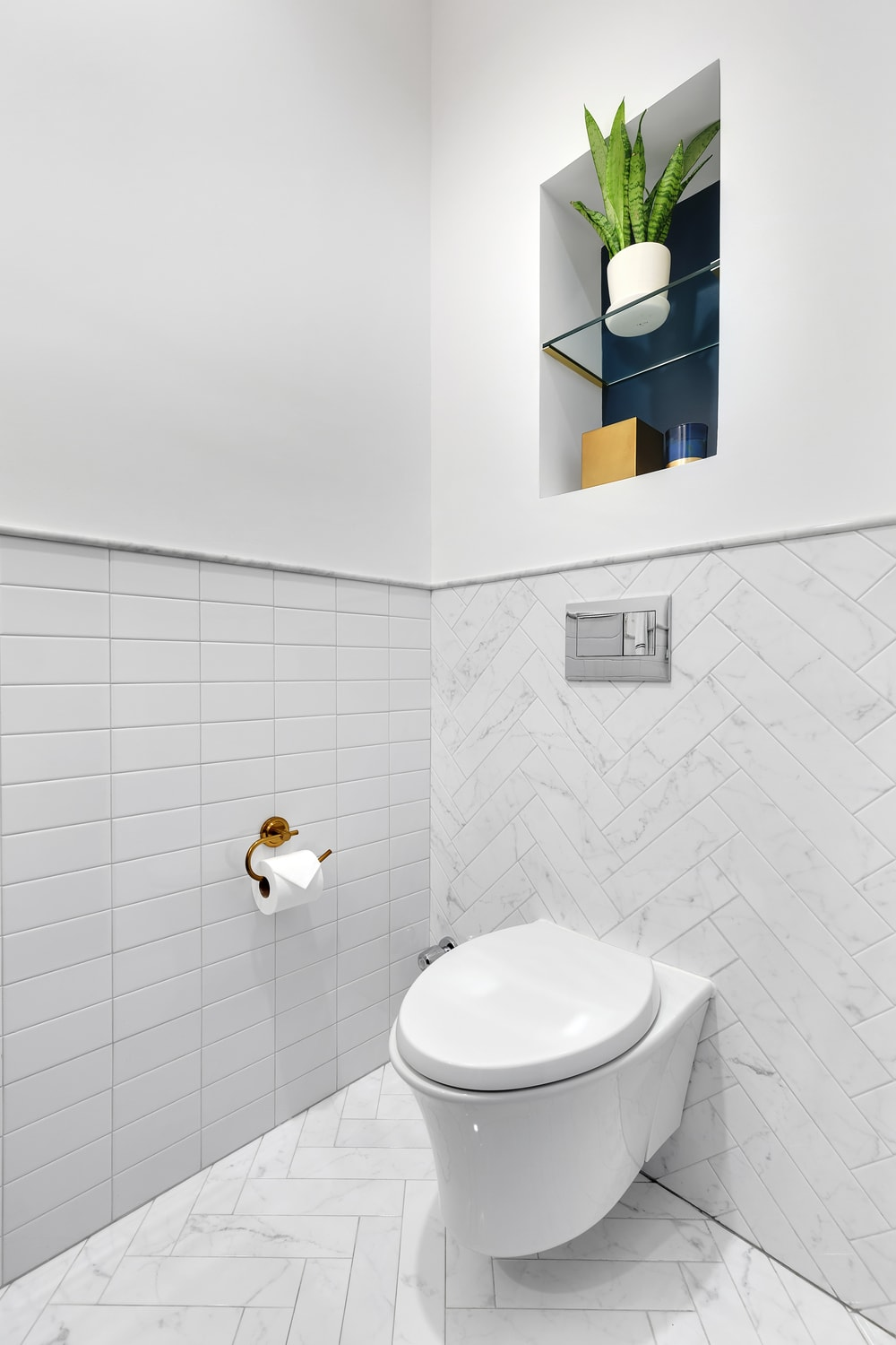 nyc powder room renovation