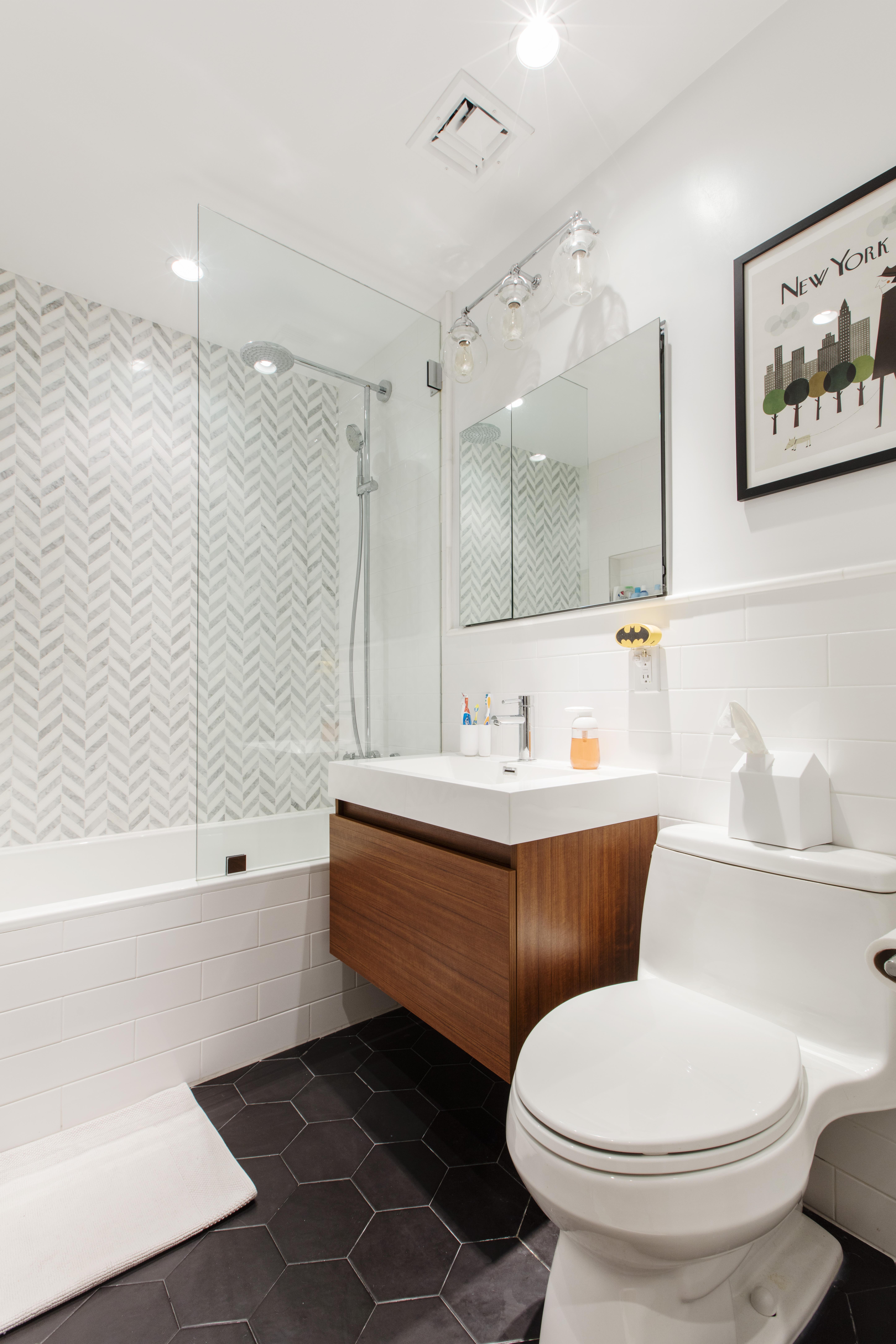 Mid Century Modern Bathroom Reno Here