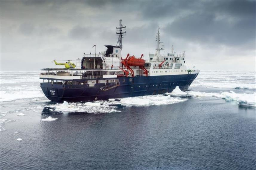 Liveaboard the Ortelius in the Artic