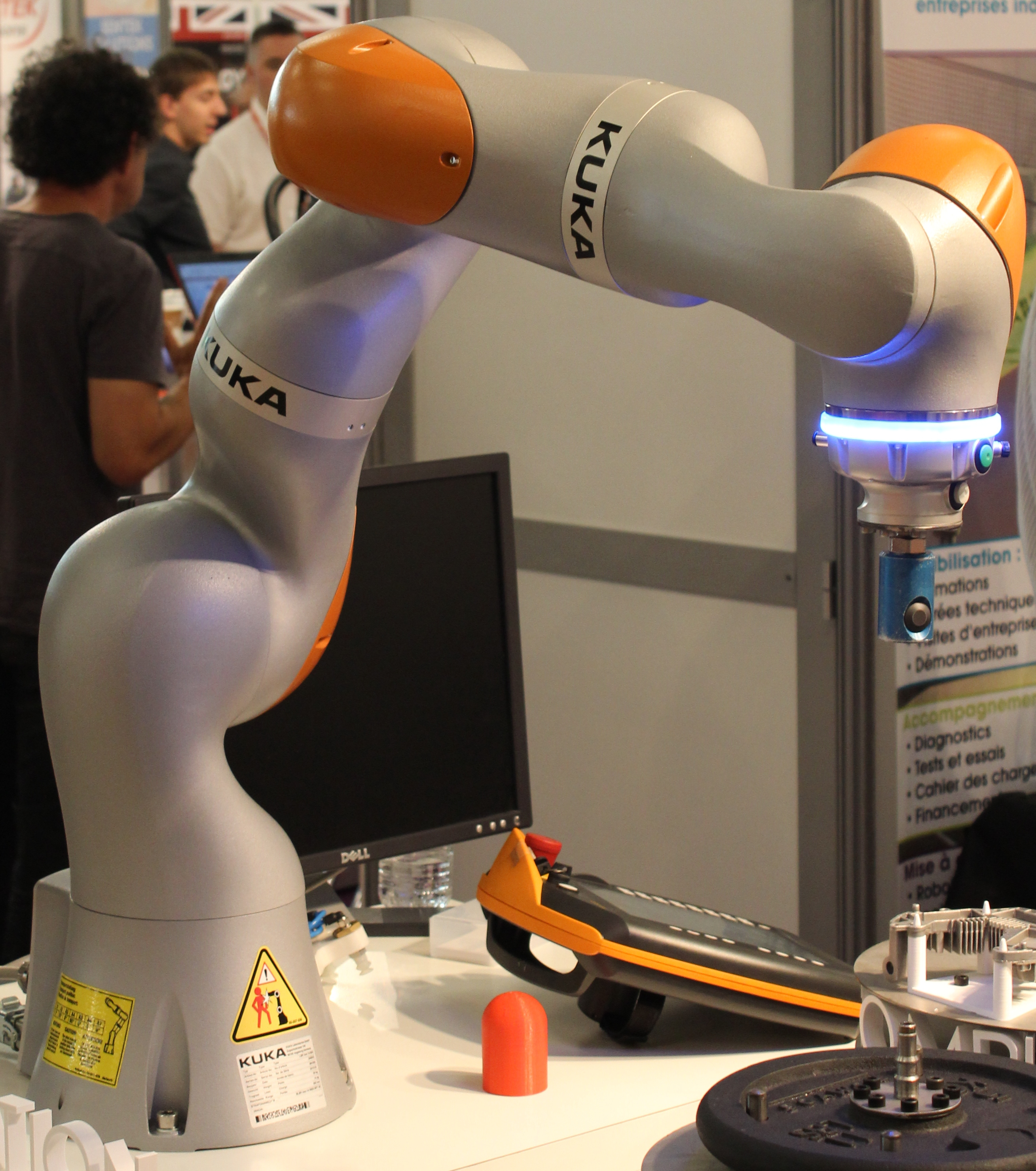 Robot collaboratif et santé sécurité au travail
