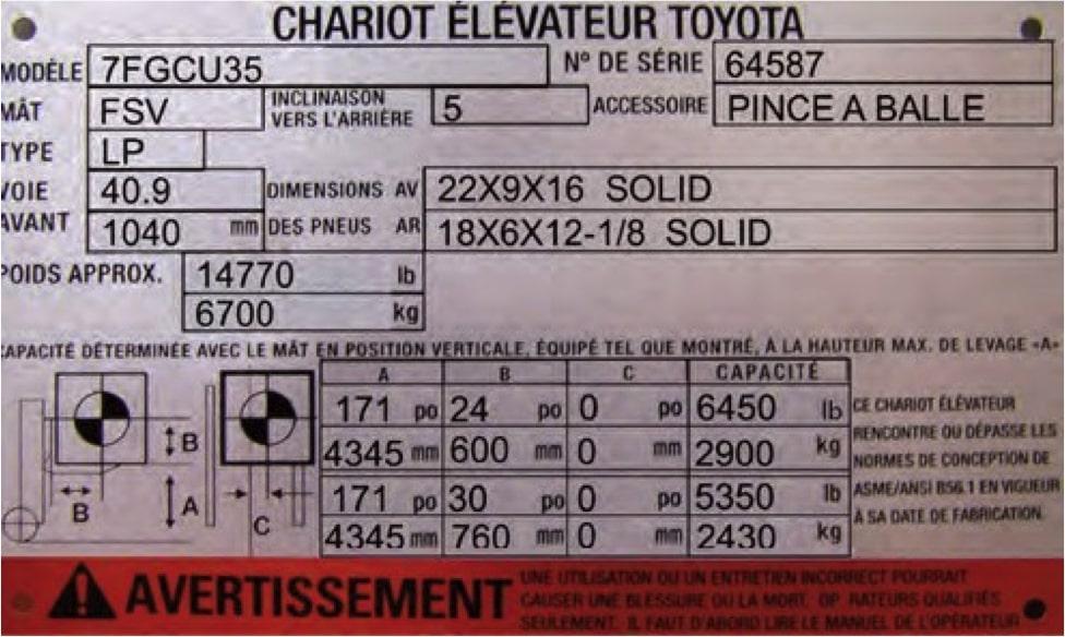 plaque_signalétique_chariot_élévateur