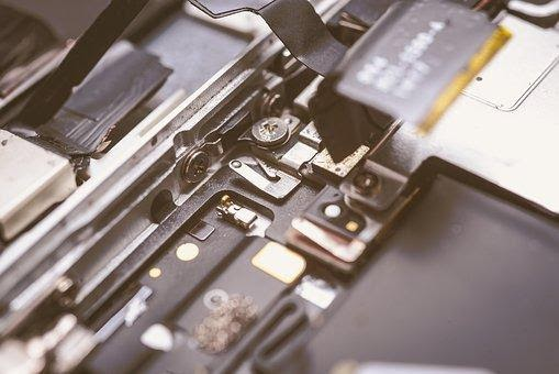 Iphone, Interior, Tecnología, Circuito