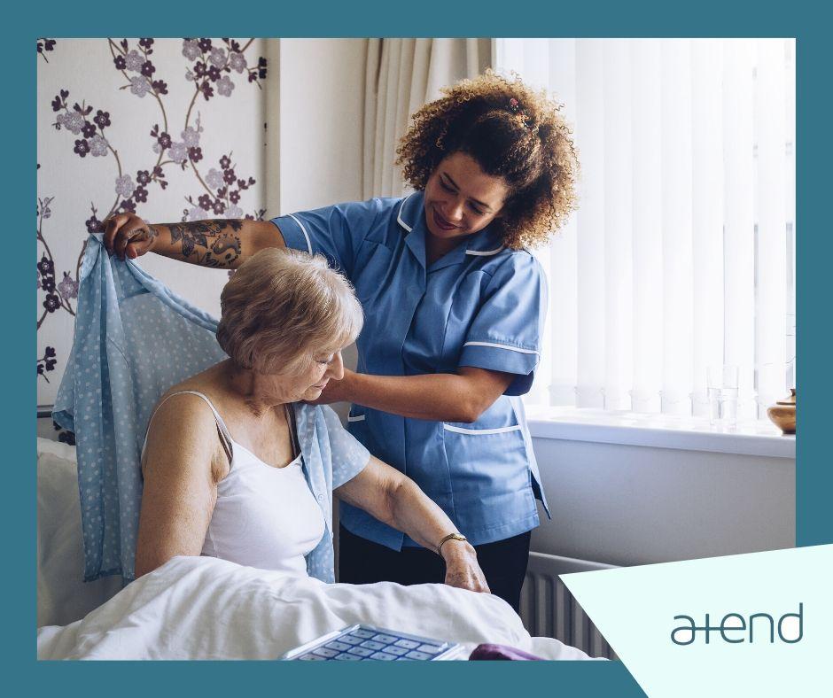 Pacientes atendidos, familias tranquilas… Contratar a un cuidador profesional en casa