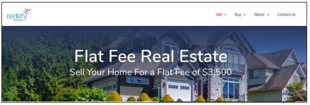 Tagline for a flat fee real estate agent service