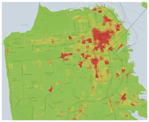 Trulia crime map