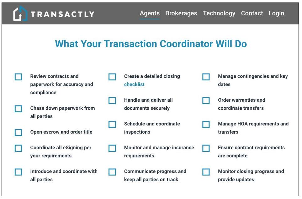Transactly virtual transaction coordinator service overview