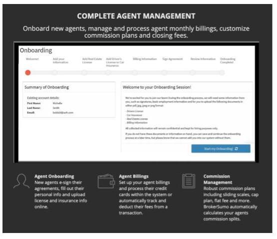Brokersumo feature overview for brokerage management