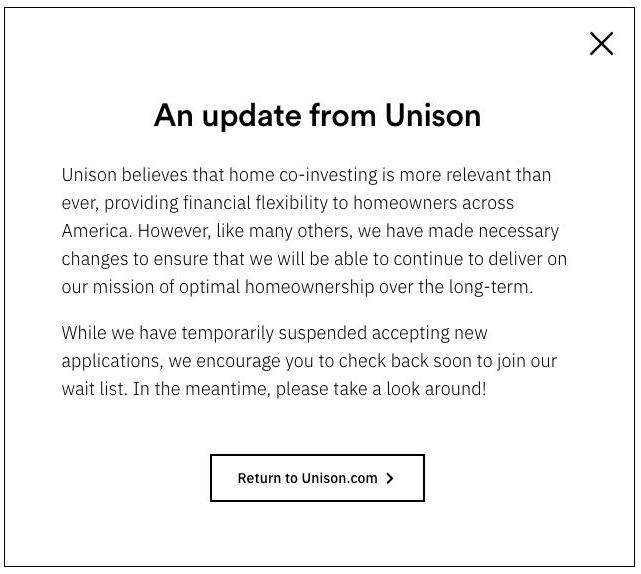Unison layoff notice
