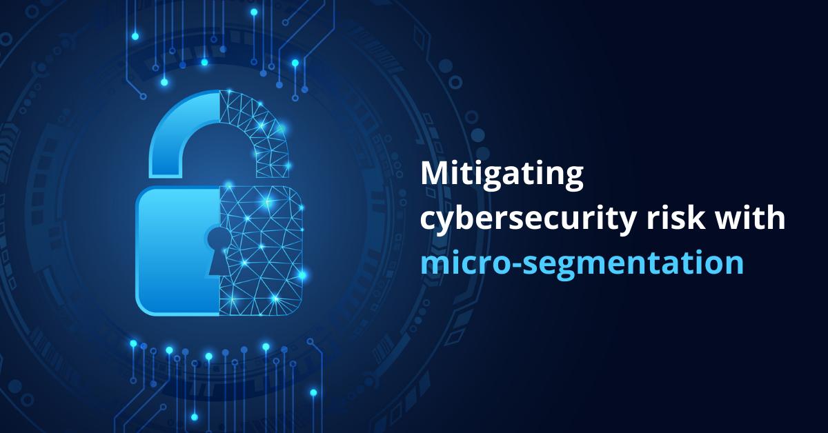 Mitigating cybersecurity risk with micro-segmentation