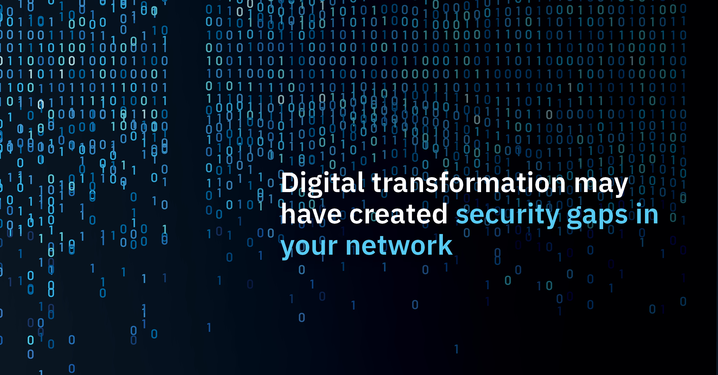 How your digital transformation may have created security gaps in your architecture