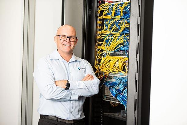 IT Support Technician in a Data Centre