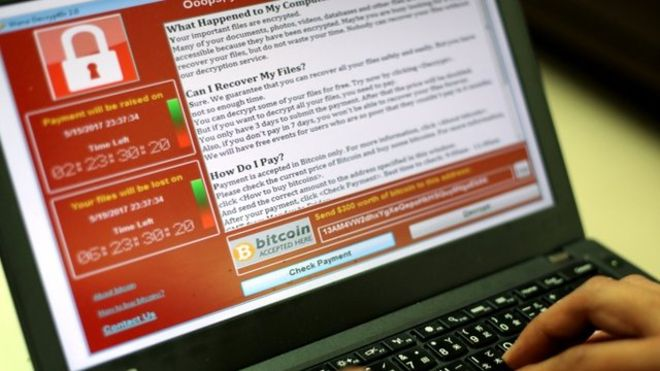 Wannacry - image via http://www.bbc.com/news/technology-39924318
