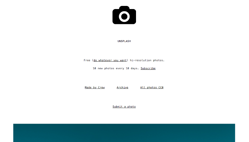 flexiple-side-project-blog-website-unsplash