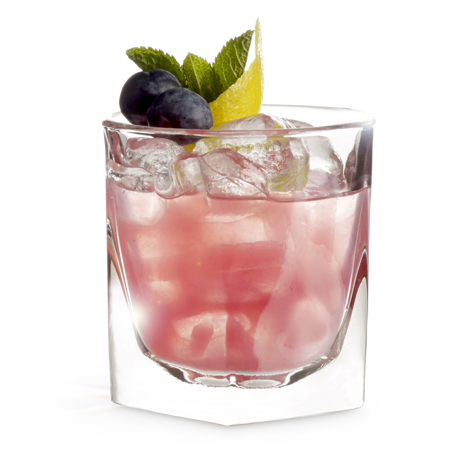 Expertly mixed cocktail