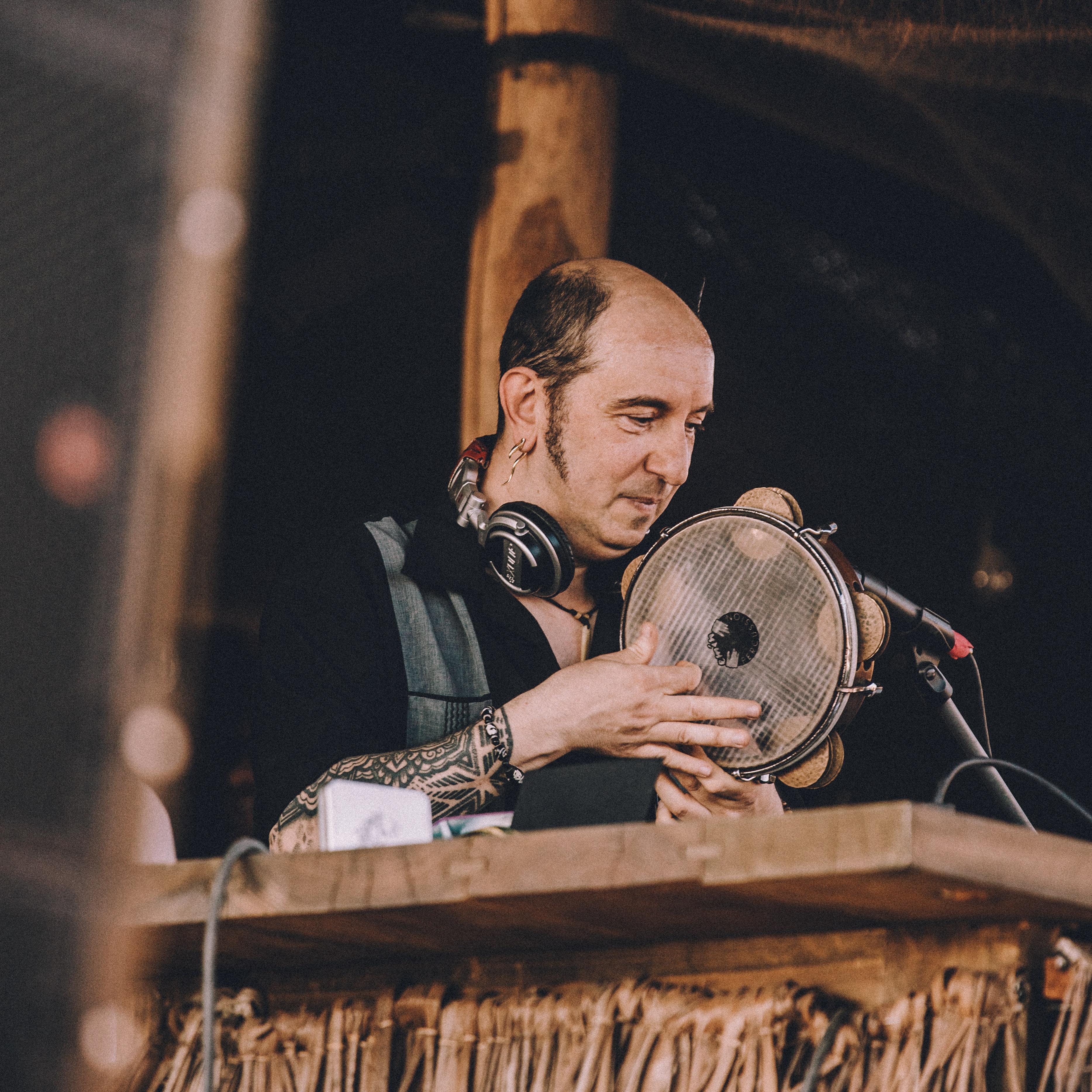 Mercan Dede musician interview Scorpios Mykonos Turkish music