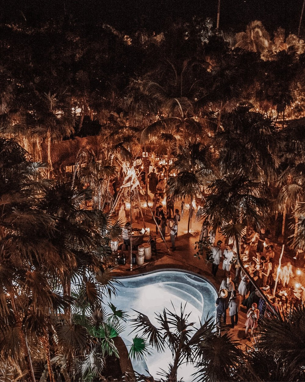 Scorpios Sunset Ritual at Tulum Treehouse, featuring a live set from Uji.