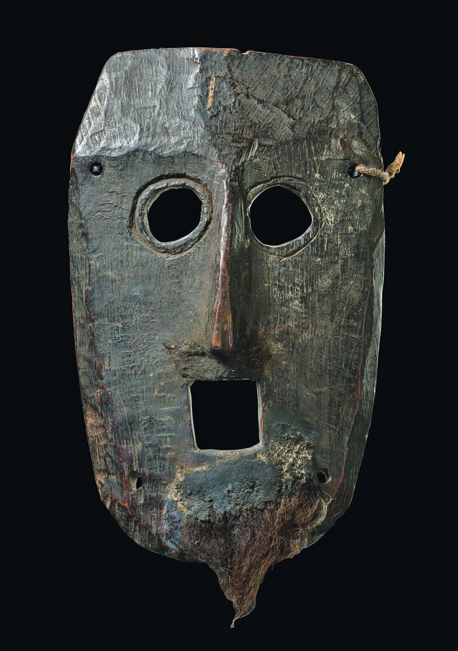 Mask of a shaman from the Himalayas